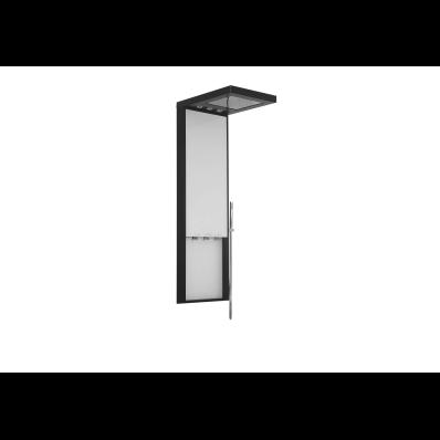 Notte Shower System with Hydromassage 172x40 cm