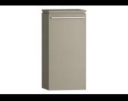 55892 - System Fit Medium Unit Metallic Mink Left 40 cm