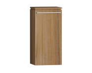 55899 - System Fit Medium Unit Waved Natural Wood Right 40 cm