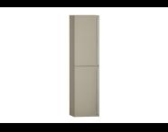 55916 - System Fit Tall Unit, Metallic Mink, Left