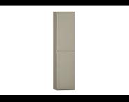 55924 - System Fit Tall Unit, Metallic Mink, Right