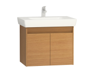 55994 - Step Washbasin Unit, 65 cm, Teak