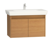 55996 - Step Washbasin Unit, 85 cm, Teak