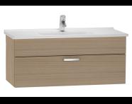 56071 - S50 Washbasin Unit, 100 cm (Golden Cherry)