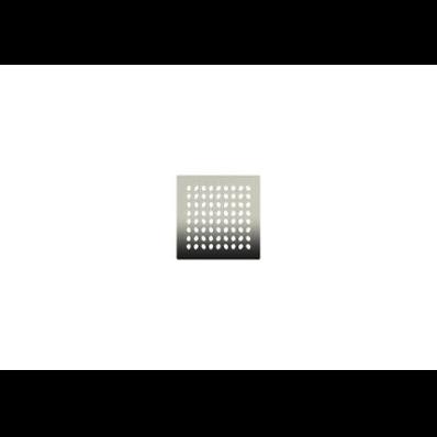 SC200 010 Square with Insulation Elegant Matte Chrome, Side