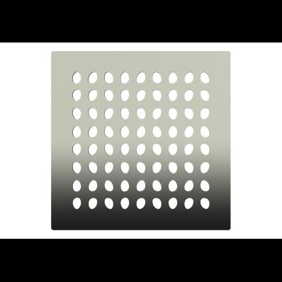 SC200 015 Square with Insulation Elegant Matte Chrome, Side