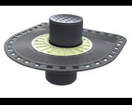 5607357 - SC300 13.5 Round Style Matt Chrome, Vertical