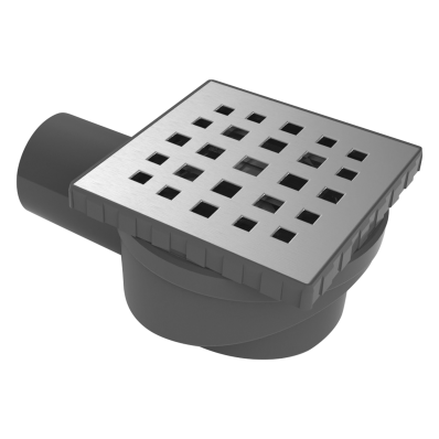 SC300 015 Square Style Matte Chrome,Vertical