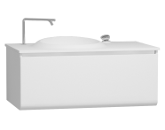 56094 - Istanbul Washbasin Unit 100 cm, White