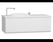 56096 - Istanbul Washbasin Unit 120 cm, White