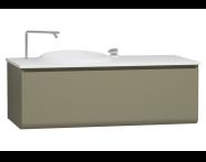 56098 - Istanbul Washbasin Unit 120 cm, Olive Green