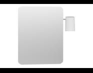 56156 - Nest Trendy Ayna, 60 cm