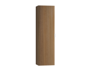 56187 - Nest Trendy Tall Unit Tek Kapak, Waved Natural Wood Left