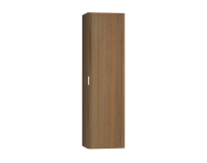 56190 - Nest Trendy Tall Unit Tek Kapak, Waved Natural Wood Right