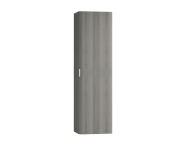 56191 - Nest Trendy Tall Unit Tek Kapak, Grey Natural Oak  Right