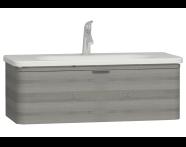 56324 - Nest Washbasin Unit with 1 drawer 100 cm,  to suit  5687 washbasin