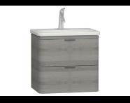 56327 - Nest Washbasin Unit with 2 drawers 60 cm, to suit  5685 washbasin