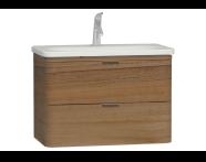 56329 - Nest Washbasin Unit with 2 drawers 80 cm, to suit  5686 washbasin