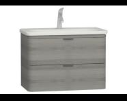56330 - Nest Washbasin Unit with 2 drawers 80 cm, to suit  5686 washbasin