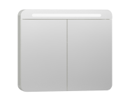 56423 - Nest Trendy Mirror Cabinet 80 cm, White