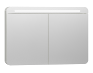 56424 - Nest Trendy Mirror Cabinet 100 cm, White