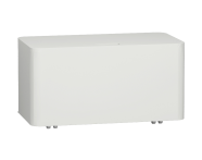 56425 - Nest Laundry Unit, with Wheels, Top-Opening, 80 cm, High Gloss White