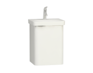 56432 - Nest Single Doorı  Washbasin Unit 45 cm, White, Right