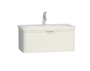 56438 - Nest Trendy 1 Drawer Washbasin Unit 80 cm White