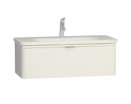 56439 - Nest Trendy 1 Drawer Washbasin Unit 100 cm White