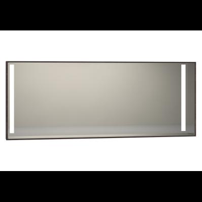 Memoria Illuminated Mirror, 150 cm, Matte Walnut