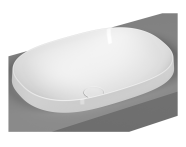 5652B483H0016 - Frame Oval Countertop Washbasin, Matte Black