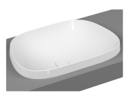 5653B403-0016 - Frame Tv Countertop Washbasin, White