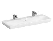 5658B003-1474 - Washbasin, 120 cm, Two Tap Hole, With Overflow Hole