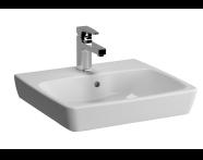 5661B003-0937 - M-Line Washbasin, No Overflow Hole, 50 cm