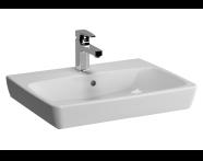 5662B003-0937 - M-Line Washbasin, No Overflow Hole, 60 cm