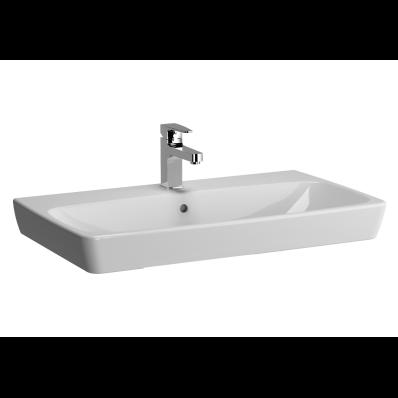 M-Line Washbasin, No Overflow Hole, 80 cm