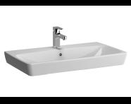 5663B003H0973 - Metropole Washbasin, 80 cm