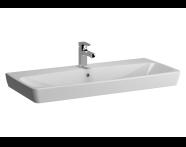 5664B003H0973 - Metropole Washbasin, 100 cm