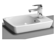 5665B003-0294 - M-Line Countertop Washbasin, No Overflow Hole, 50x38 cm