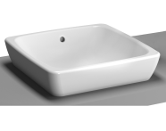 5666B003-0016 - M-Line Countertop Washbasin, No Overflow Hole, 40 cm