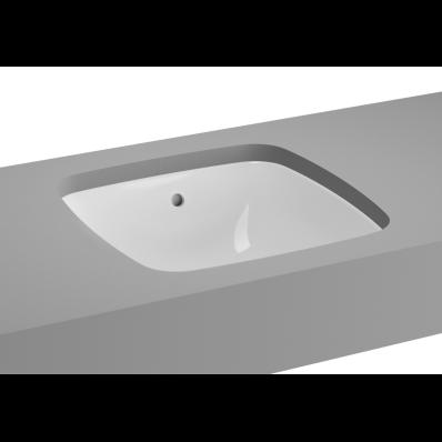 M-Line Undercounter Washbasin, No Overflow Hole, 37 cm