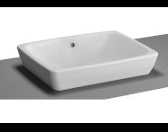 5667B003-0012 - M-Line Countertop Washbasin, 50 cm