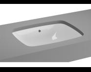 5667B003-1083 - M-Line Undercounter Washbasin, No Overflow Hole, 47 cm
