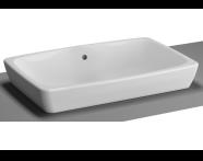 5668B003-0012 - M-Line Countertop Washbasin, 60 cm