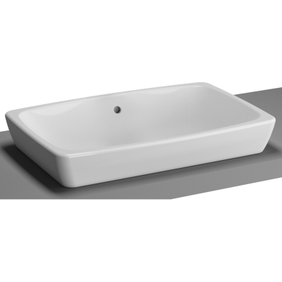 M-Line Countertop Washbasin, No Overflow Hole, 60 cm