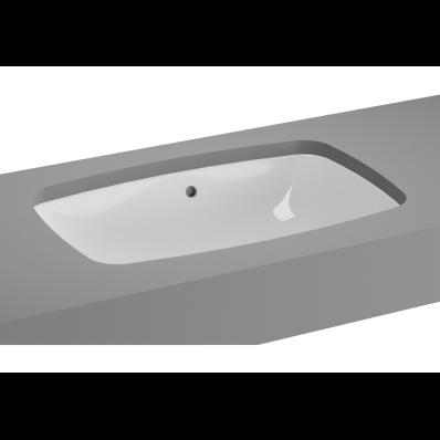 M-Line Undercounter Washbasin, No Overflow Hole, 57 cm