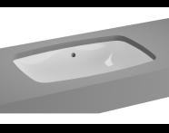 5668B003H1082 - Metropole Undercounter Basin, 57 cm