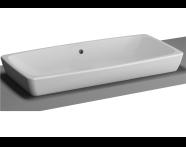 5669B003-0012 - M-Line Countertop Washbasin, 80 cm