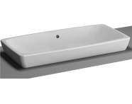 5669B003-0016 - M-Line Countertop Washbasin, No Overflow Hole, 80 cm