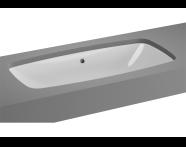 5669B003-1083 - M-Line Undercounter Washbasin, No Overflow Hole, 77 cm